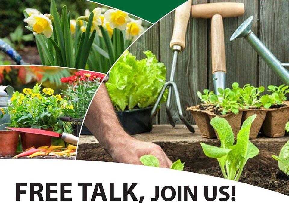 Talk: Autumn Gardening